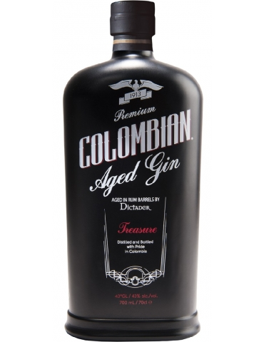 Dictador Treasure- Columbian Aged Gin