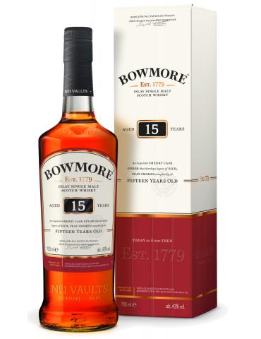 Bowmore  15 YO Sherry Cask