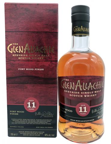 GlenAllachie 11 YO Port finish