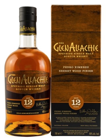 GlenAllachie 12 YO PX finish