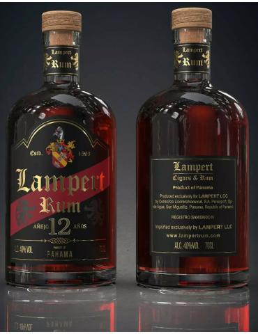 Lampert 12 YO Panama Rum